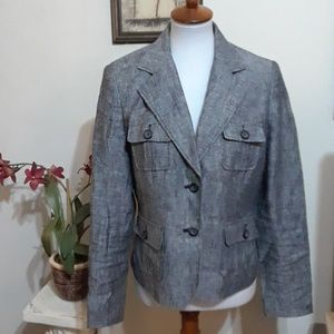 Super Cute Style & Co Linen Jacket